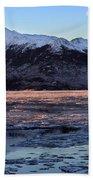 Turnagain Arm At Dawn Alaska Beach Sheet