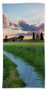 Tuscan Sunset Beach Towel