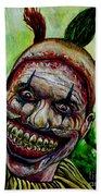 Twisty The Clown Beach Sheet