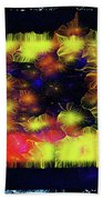 Uncaged And Unafraid - Breaking The Gridlock Of Hate Number 3 Beach Towel