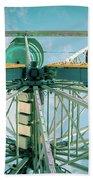 Under The Ferris Wheel Beach Towel
