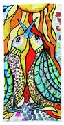 Under The Sun Beach Towel by Mimulux patricia No