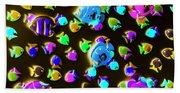 Underwater Glow Beach Sheet
