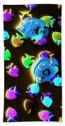 Underwater Glow Beach Towel