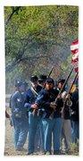 Union Infantry Advance Beach Towel