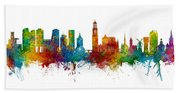 Utrecht The Netherlands Skyline Beach Towel