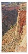 Valley Colorado National Monument 2884 Beach Towel
