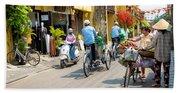 Vietnam Street Beach Towel