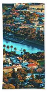 View Of Molteno Reservoir - Cape Town Beach Towel