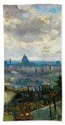 View Of Paris - Digital Remastered Edition Beach Sheet