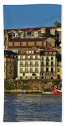 View Of Porto And Douro River Beach Towel
