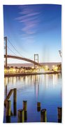 Vincent Thomas Bridge Beach Towel