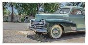 Vintage Car Chevy Fleetmaster Beach Sheet