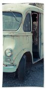 Vintage International Harvester Metro Delivery Van Beach Sheet