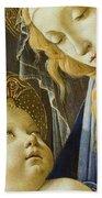 Virgin And Child Renaissance Catholic Art Beach Towel