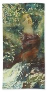 Waking Forest Beach Towel