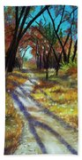 Walk This Way Beach Towel
