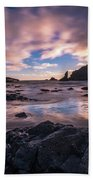 Washington Coast Skies Blue Clarity Beach Towel
