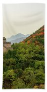 Watch Tower, Great Wall Of China Beach Towel