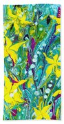 Water Lilies Beach Sheet