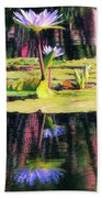 Water Lily 12 Beach Towel
