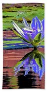 Water Lily10 Beach Towel