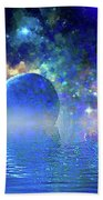 Water Planet One Beach Towel