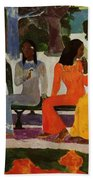We Shall Not Go To Market Today 1892 Beach Towel