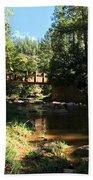 Webber Creek Bridge Beach Towel
