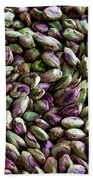 Whirling Pistachios Beach Towel