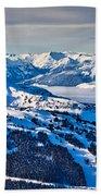 Whistler In Winter Beach Towel