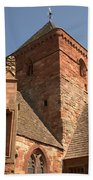 Whitekirk 12th Century Church Tower In East Lothian Beach Towel