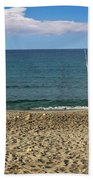 Who's Fishing? Beach Towel by Dee Flouton