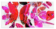 Wild Vibrancy Beach Towel