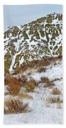 Winter Badlands Beach Sheet