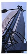 Wired Wilshire Downtown Beach Towel