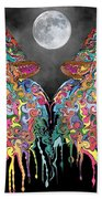 Wolf Song Beach Towel by Mark Taylor