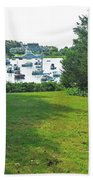 Wychmere Harbor Cape Cod Morning Beach Towel