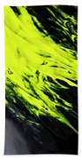 Yellow, No.8 Beach Towel by Eric Christopher Jackson