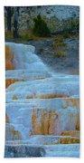 Yellowstone Mineral Deposits Beach Towel