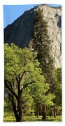 Yosemite Valley Serenity Beach Towel