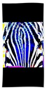 Zany Zebra II Beach Towel