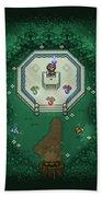 Zelda Mastersword Beach Towel