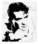 # 1 Gregory Peck Portrait. Fleece Blanket