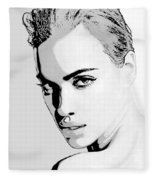 # 1 Irina Shayk Portrait Fleece Blanket