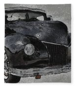 39 Custom Coupe Fleece Blanket
