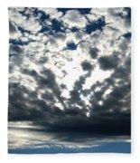 A Glorious Cloudscape Fleece Blanket