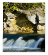 A Quiet Place  Waterfall Fleece Blanket