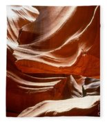 Antelope Slot Canyon Fleece Blanket