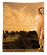 Apollo Sacred Street Fleece Blanket